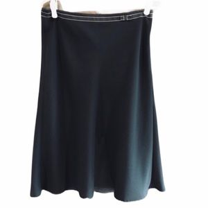 Navy Planet skirt with bow detail size 8